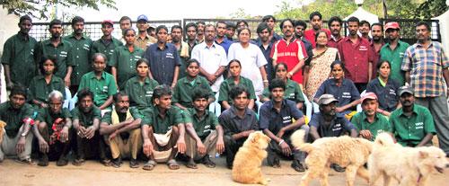 VSPCA staff