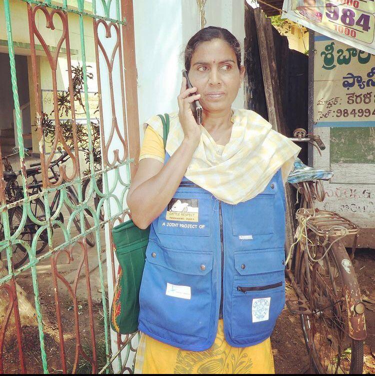 Ms. Sridevi-Protector of all bovines!